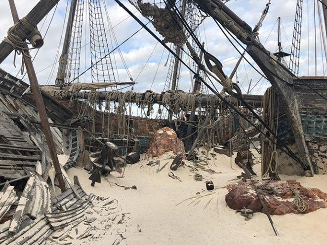 Monster Hunter - Ship's Graveyard