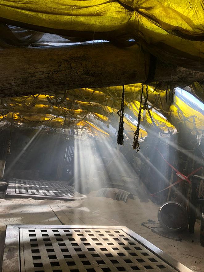 Monster Hunter - Shipwreck Interior